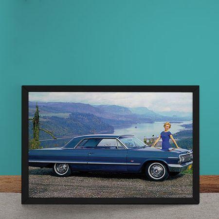 Quadro Decorativo Chevrolet Impala SS 1963