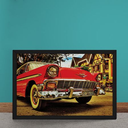 Quadro Decorativo Carro Chevrolet Muscle Car
