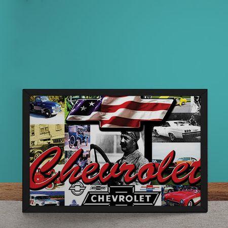 Quadro Decorativo Carro Chevrolet Estados Unidos