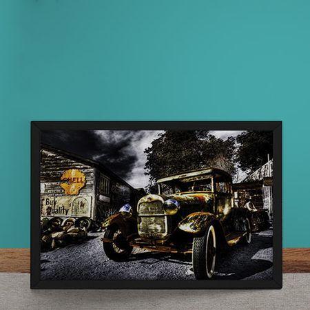 Quadro Decorativo Bentley Posto Shell