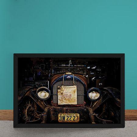 Quadro Decorativo Bentley Antigo