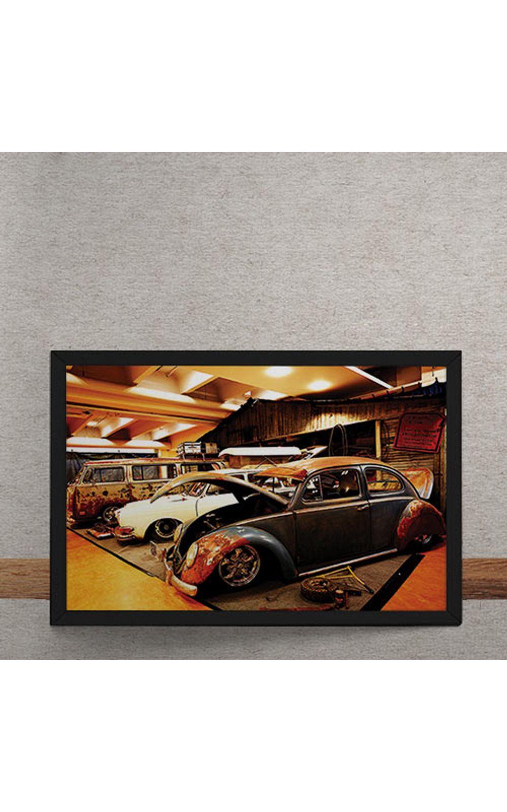 Foto 3 - Quadro Decorativo Carro Volkswagen Rat Look