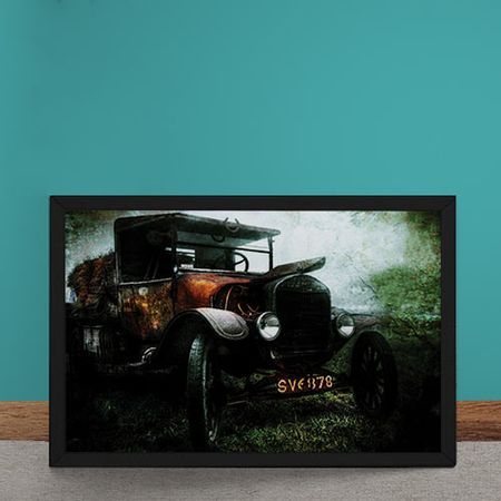 Quadro Decorativo Vintage Grass Collector
