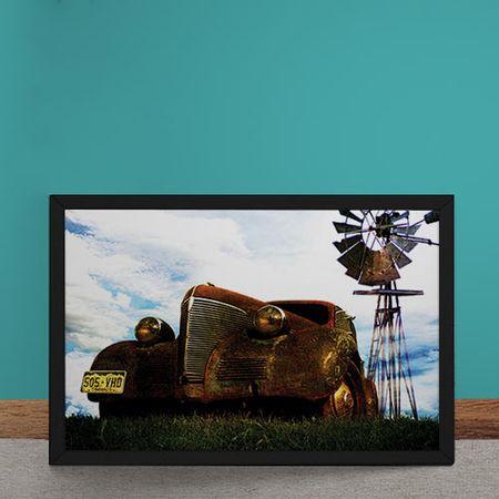 Quadro Decorativo Rust Collector
