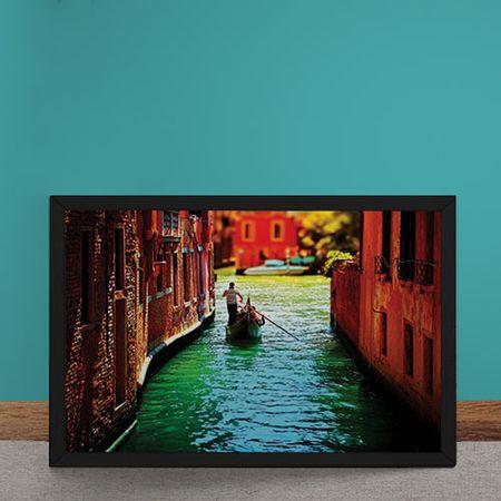 Quadro Decorativo Canais de Veneza