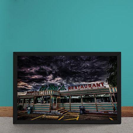 Quadro Decorativo Restaurante Al Macs