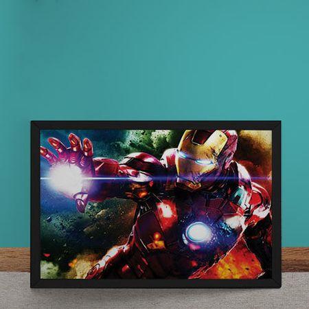 Quadro Decorativo Homem de Ferro Vingadores Marvel