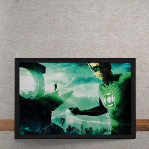 Quadro Decorativo Lanterna Verde DC Comics