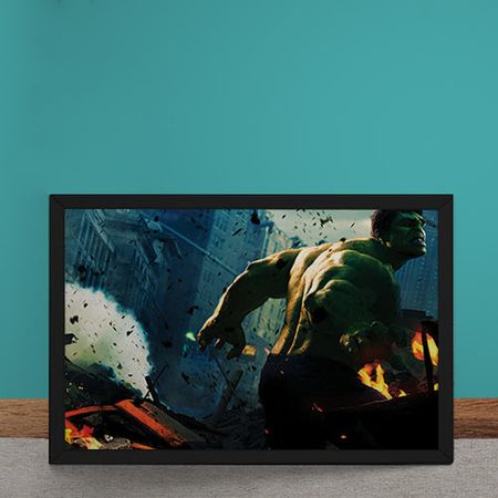 Quadro Decorativo Hulk Vingadores Marvel