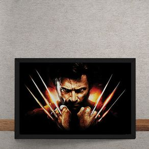 Quadro Decorativo Wolverine X Men Marvel
