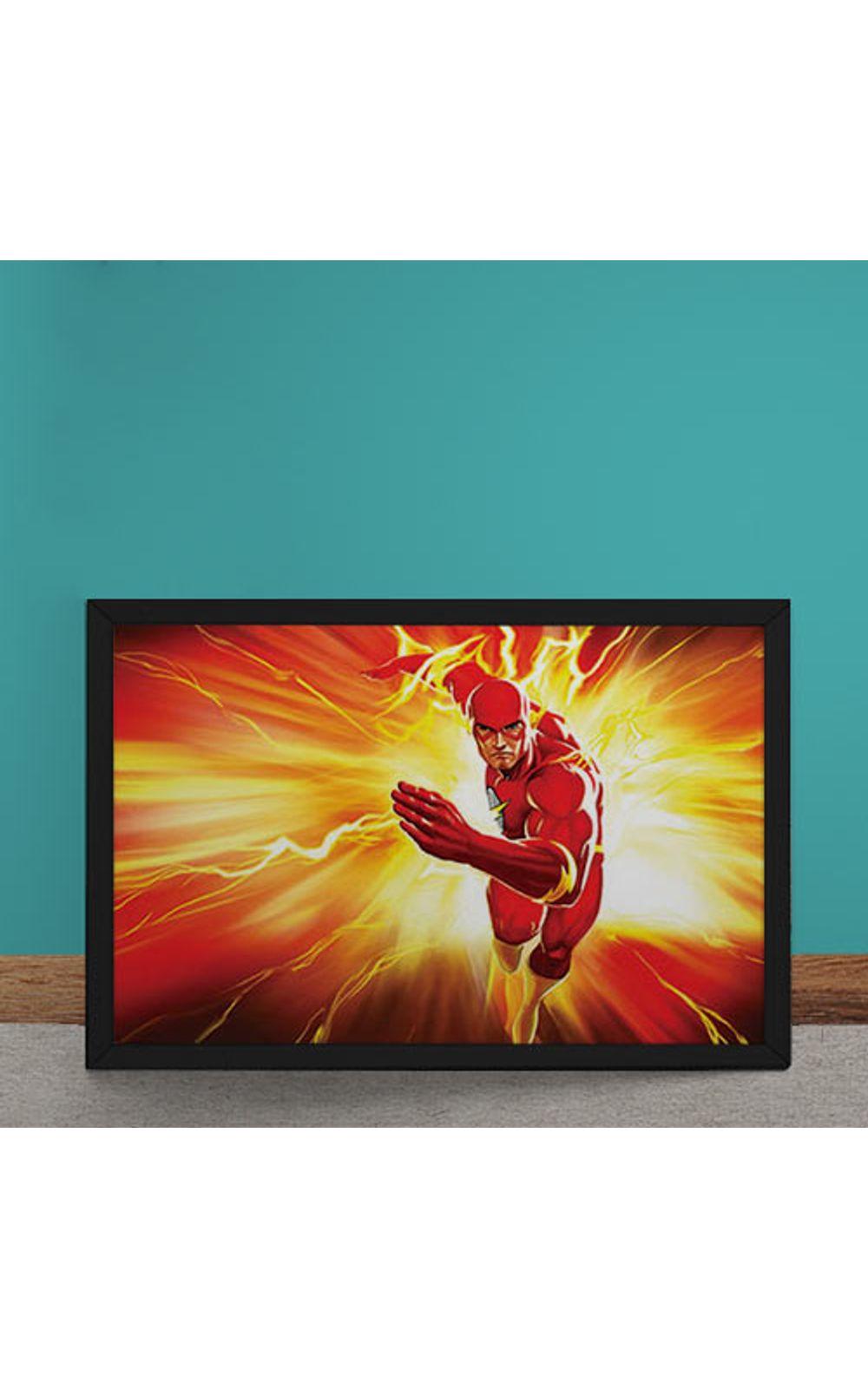 Foto 1 - Quadro Decorativo The Flash DC Comics