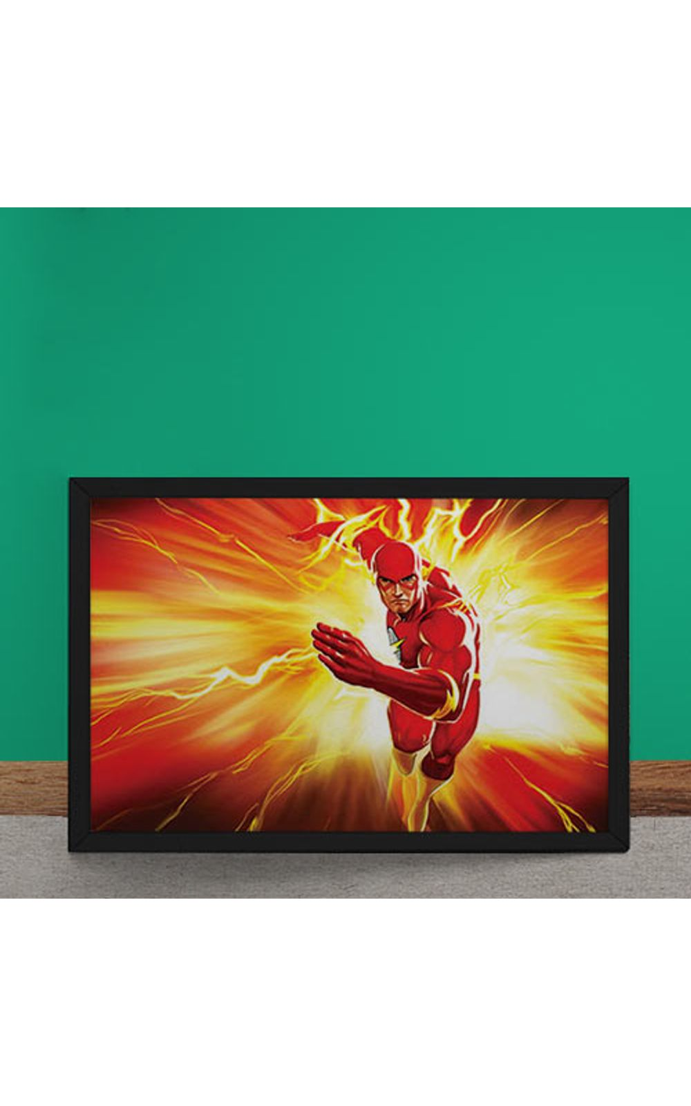 Foto 2 - Quadro Decorativo The Flash DC Comics