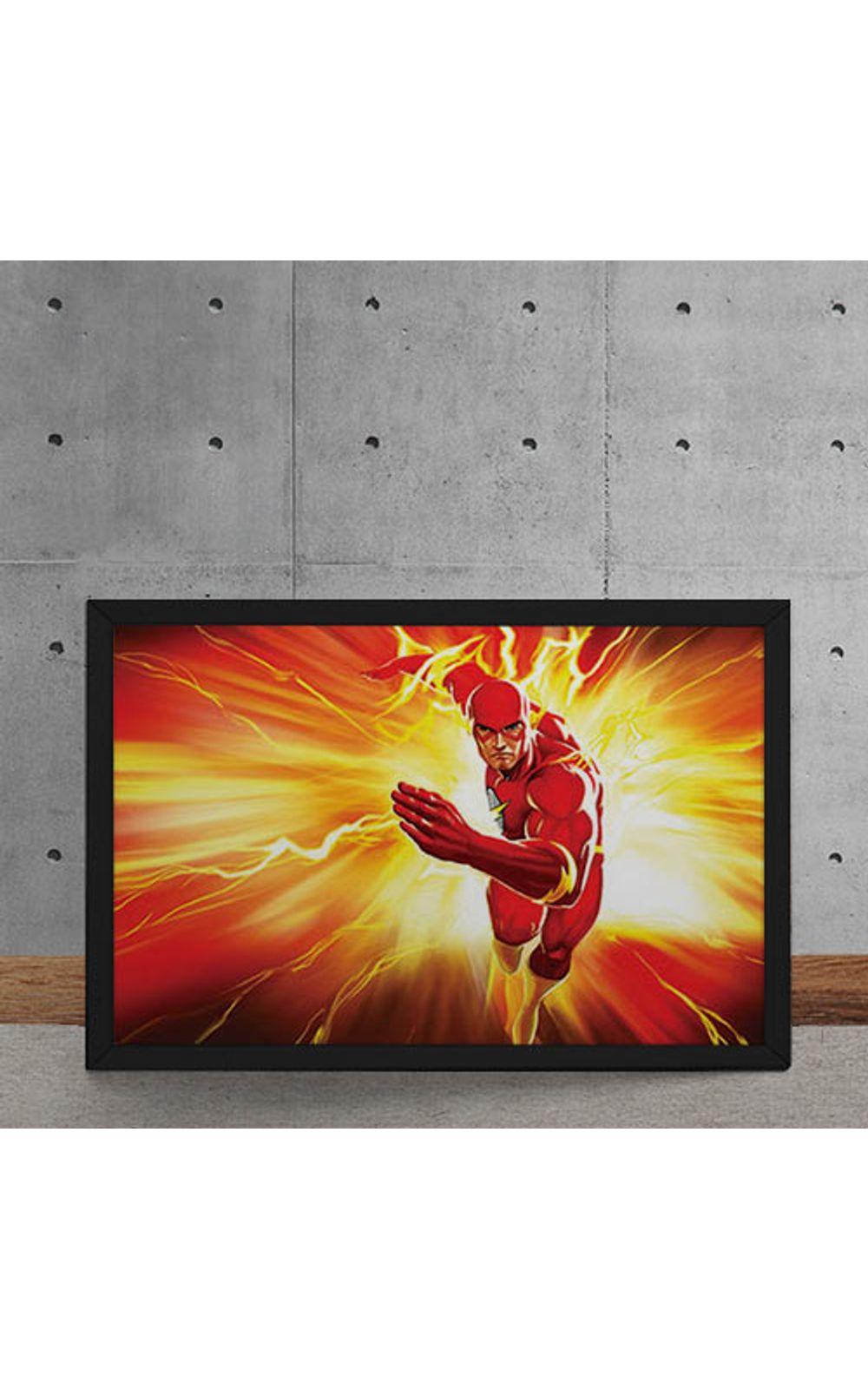 Foto 5 - Quadro Decorativo The Flash DC Comics