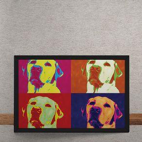 Andy-Warhol-Pop-Art-Cachorro-Labrador-tecido