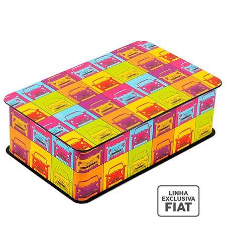 Caixa Decorativa Carros Fiat Pop