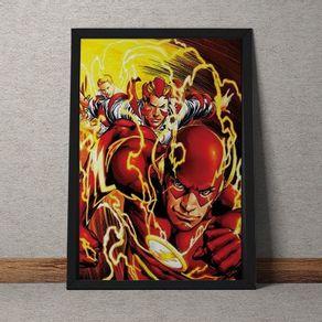 SH027-Quadro-the-flash-raio-dc-comics-tecido