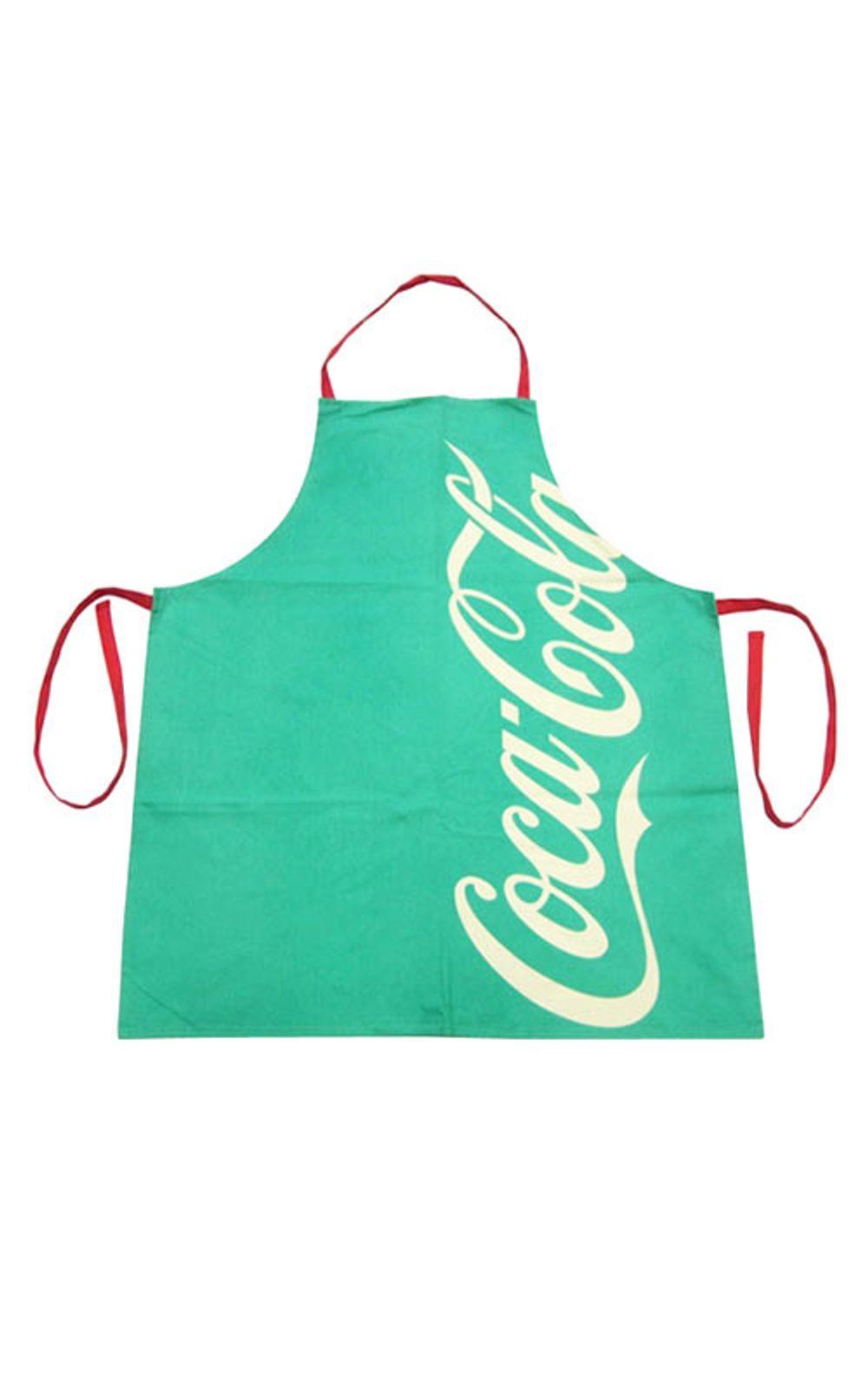 Foto 1 - Avental de Cozinha Coca Cola Moderno Verde