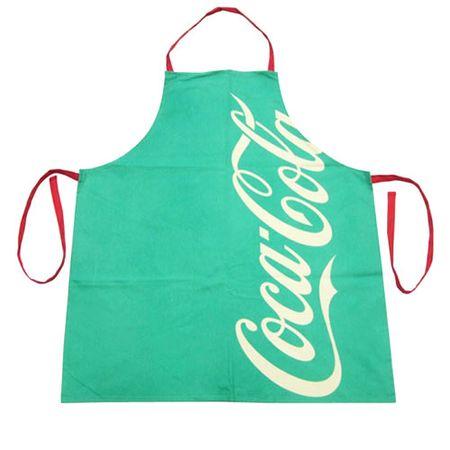 Avental de Cozinha Coca Cola Moderno Verde
