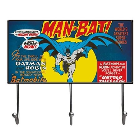 Cabideiro Batman Quadrinhos HQ DC Comics Vintage