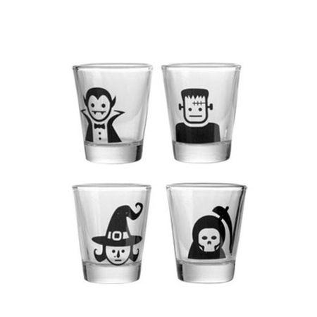 Copos de Tequila Shot Monstros Famosos