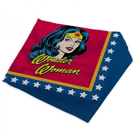 Guardanapo Mulher Maravilha Quadrinhos HQ DC Comics