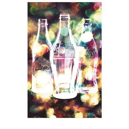 Pano de Prato Coca Cola Light Brilho Colorido