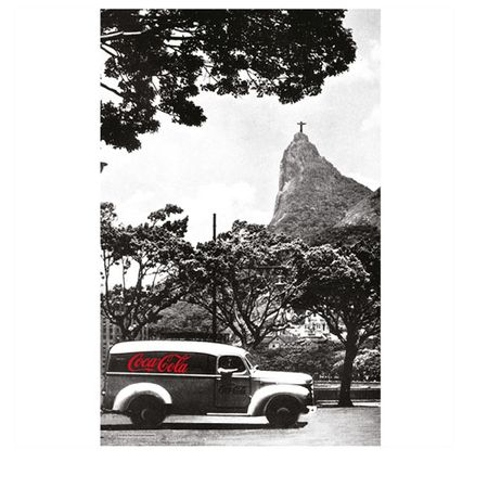 Pano de Prato Coca Cola Rio de Janeiro