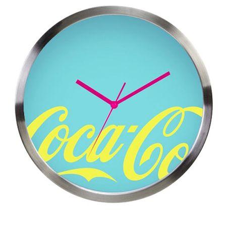 Relógio de Parede Coca Cola Moderno Neon