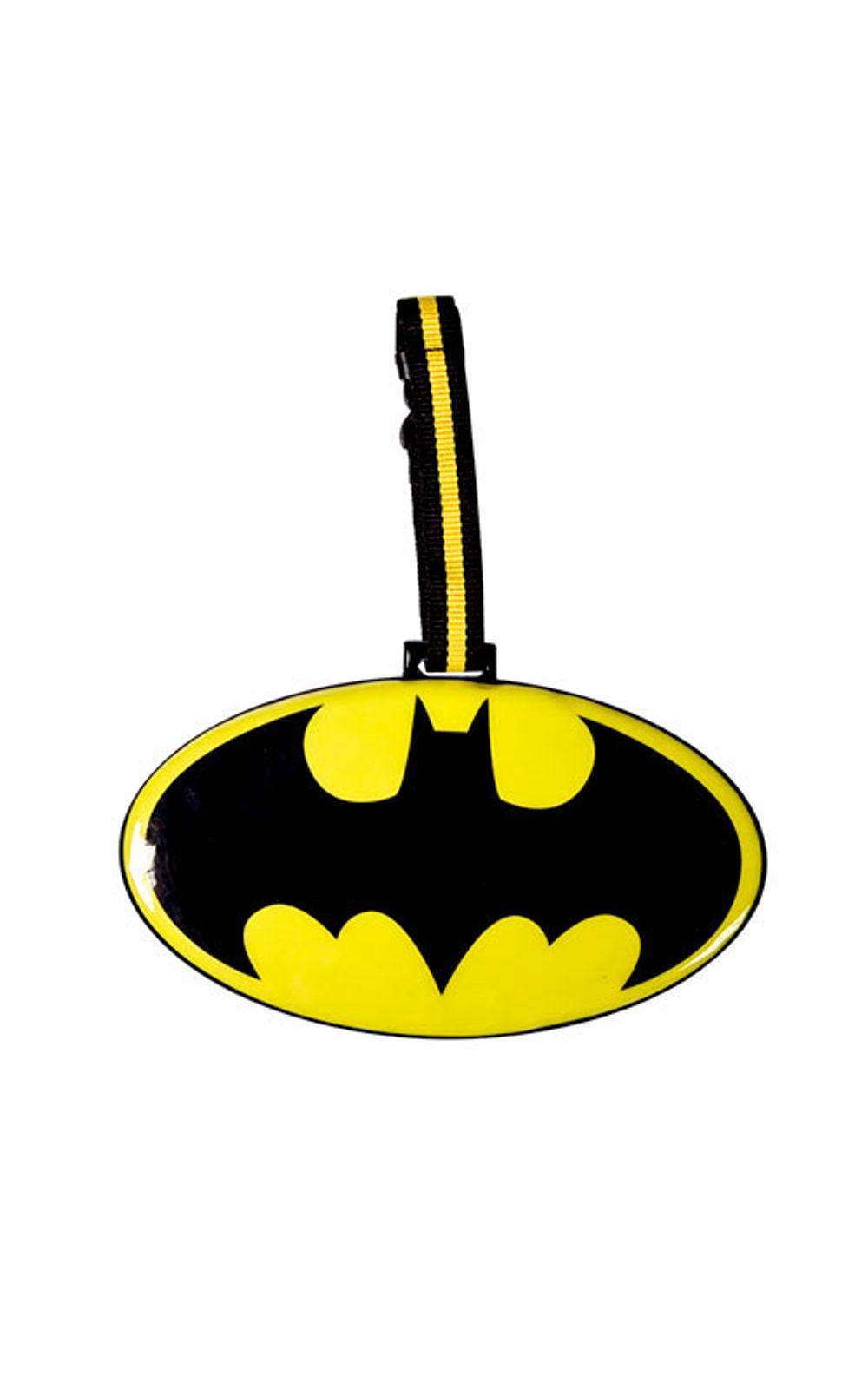 Foto 1 - Tag de Mala Batman Logo DC Comics
