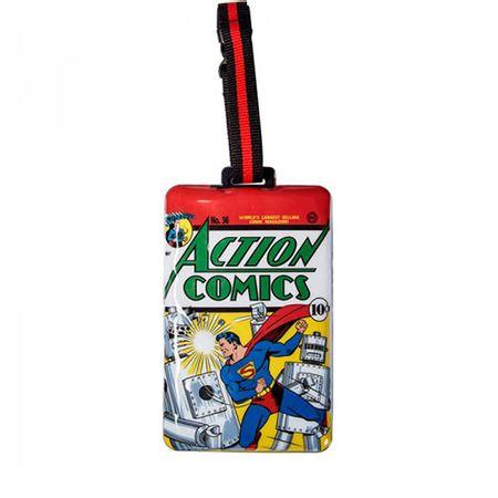 Tag de Mala Super Homem DC Comics