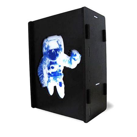Luminária de Mesa Caixa Astronauta