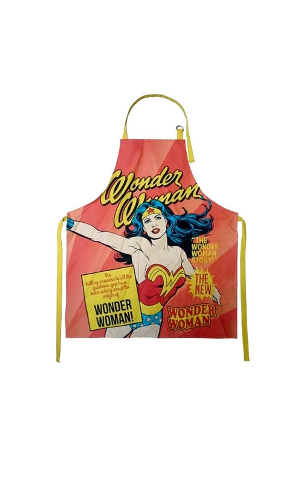 Foto 1 - Avental de Cozinha Mulher Maravilha DC Comics Original