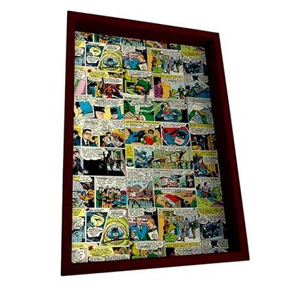 Porta Chaves Madeira Quadrinhos HQ DC Comics Colorido