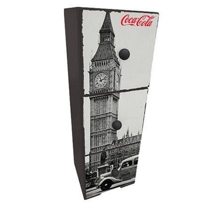 Gaveteiro de Mesa Coca Cola Londres Vintage