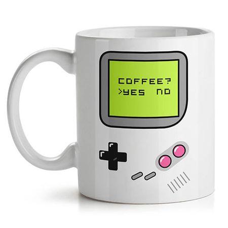Caneca Game Boy Café Joystick