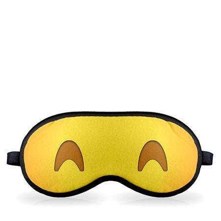 Mascara para Dormir Emoji Dormindo Feliz Emoticon