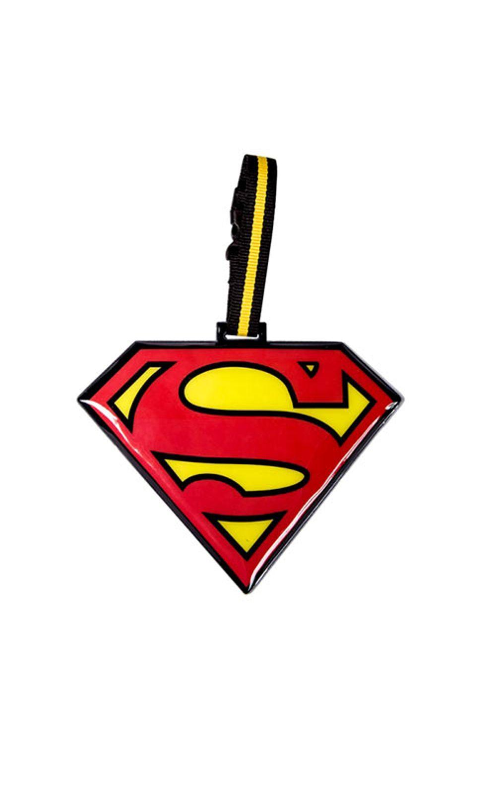 Foto 1 - Tag de Mala Super Homem Escudo DC Comics