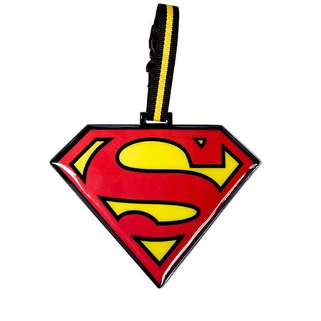 Tag de Mala Super Homem Escudo DC Comics