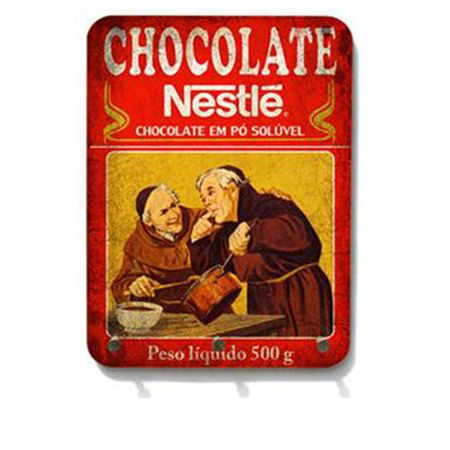 Porta Chaves Chocolate do Padre Nestle