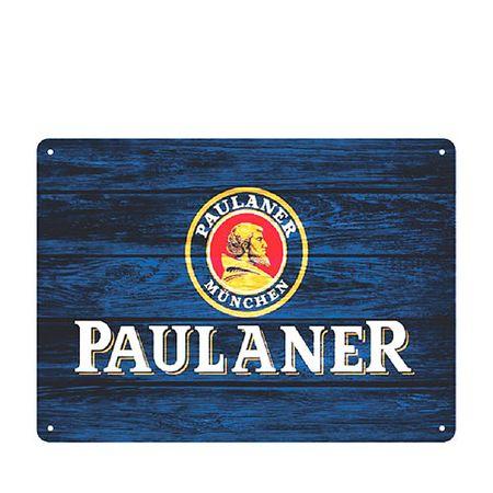 Placa Decorativa em MDF Cerveja Paulaner