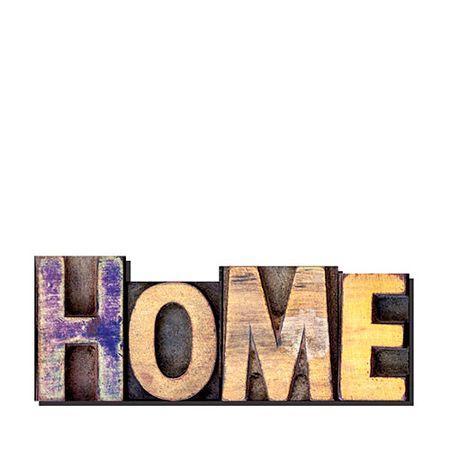 Palavras Letras em Alto Relevo Home Casa