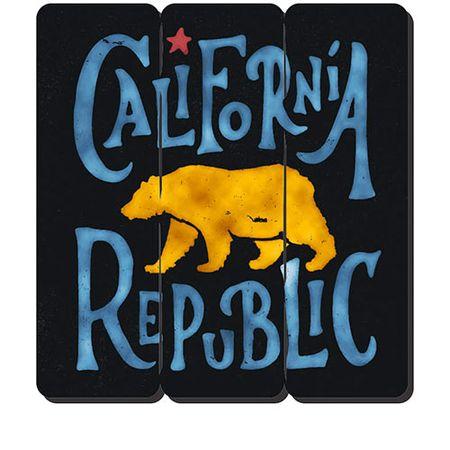 Placa Decorativa em MDF Ripado California