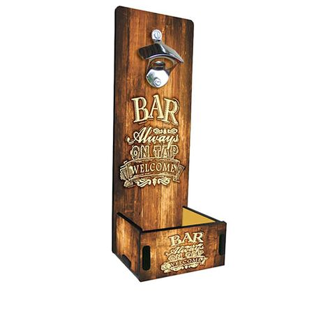 Abridor de Garrafa Grande Cerveja Sempre no Bar