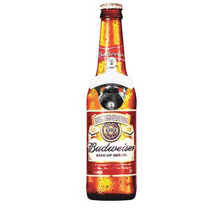 Abridor de Garrafas de Parede Cerveja  Budweiser