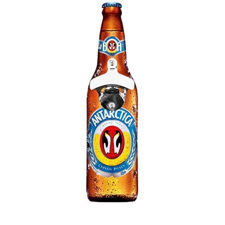 Abridor de Garrafas de Parede Cerveja Antartica