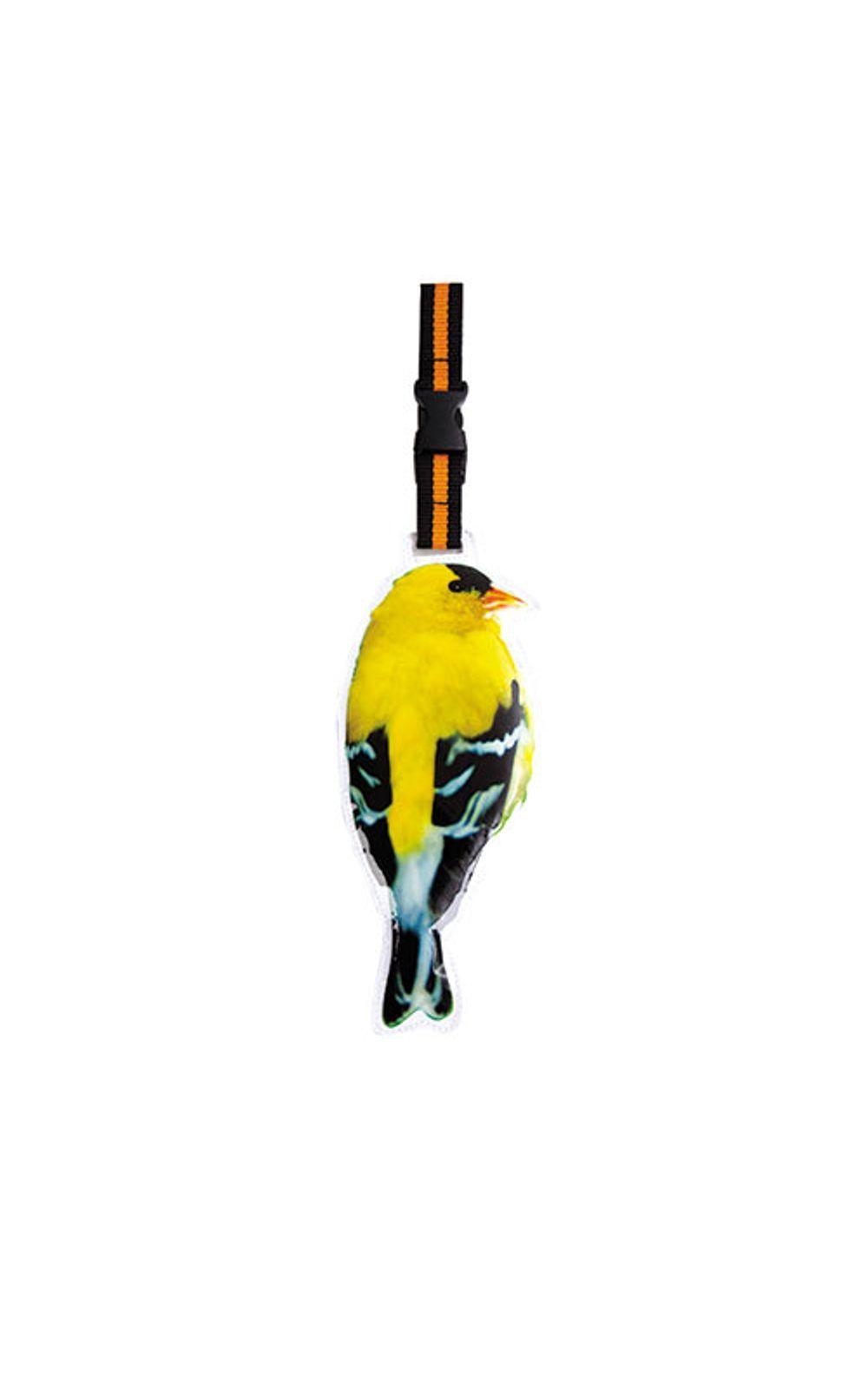 Foto 1 - Tag de Mala Formato Passarinho Amarelo