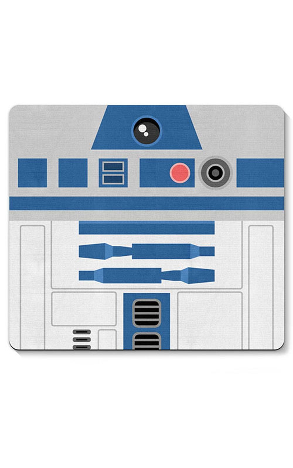 Foto 1 - Mouse pad Robo R2D2 Star Wars Faces