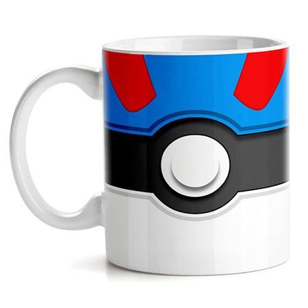 Caneca Pokemon Great Pokebola