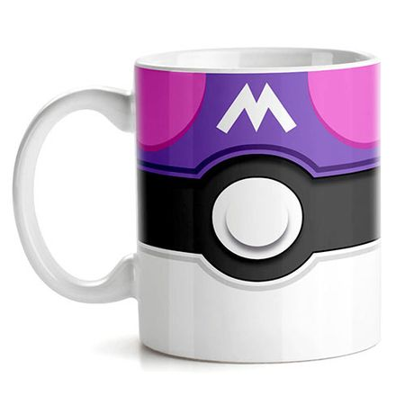 Caneca Pokemon Master Pokebola