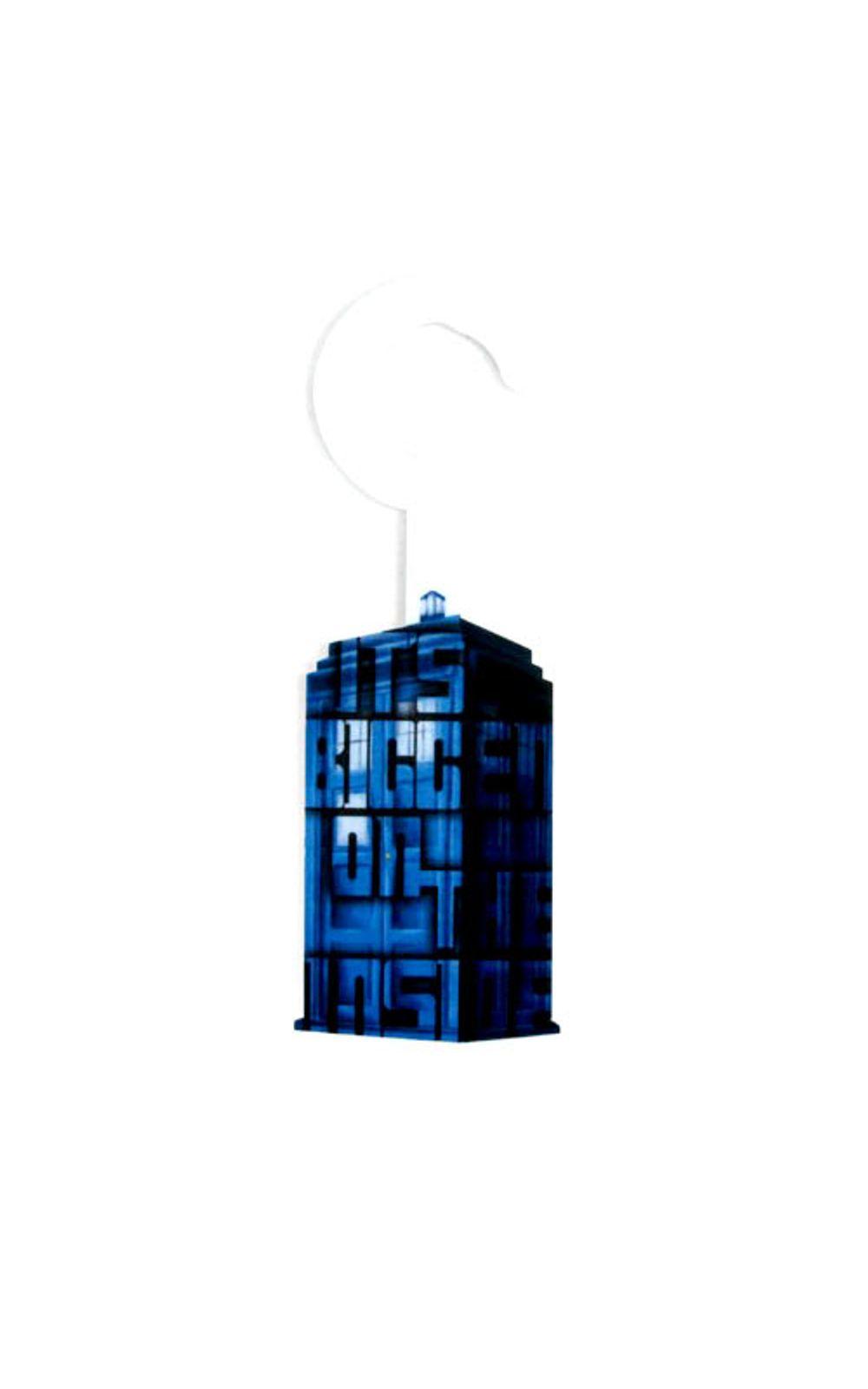 Foto 1 - Aviso de Porta Cabine Doctor Who